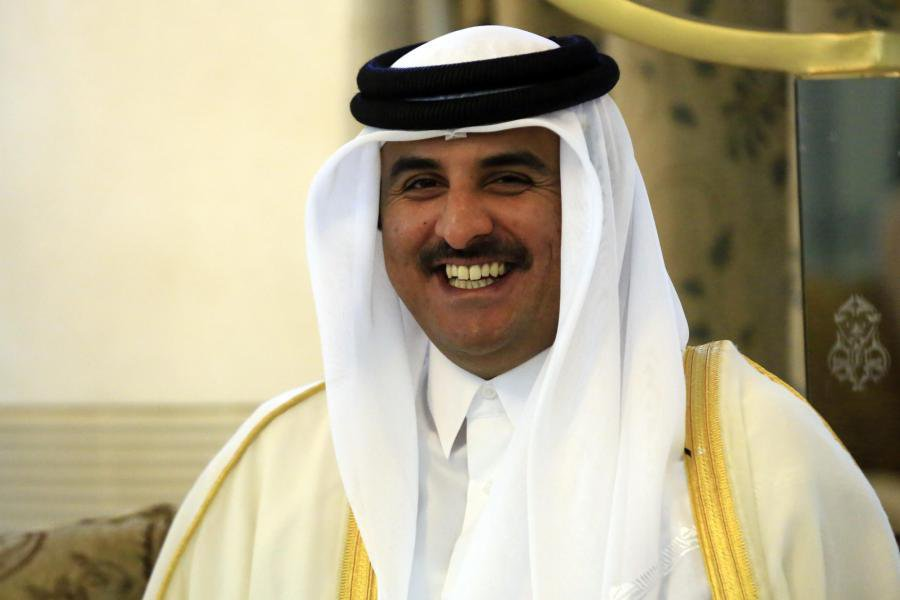 Katar'da Filistin'e destek