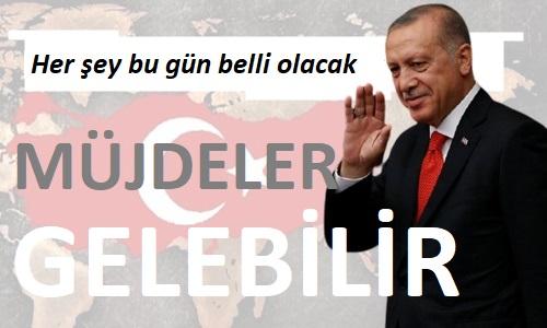Kapanma sonrası gözler Cumhurbaşkanı Erdoğan'da olacak
