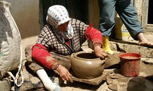 Gümüşhane toprak 'Gudularında' pişen yemeklerin tadına doyulmuyor