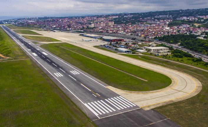 Trabzon'da 'sis' havayı vurdu