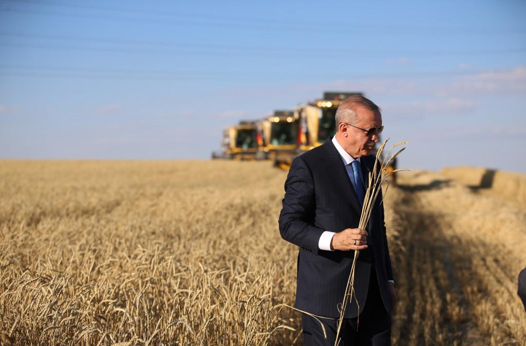 Cumhurbaşkanı Erdoğan Çiftçiye Müjdeyi Zonduldak'tan Verdi