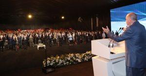 Erdoğan: Kanal İstanbul, 15 milyar dolarlık maliyetle 6 yılda tamamlanacak