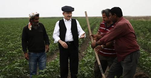 Çiftçi dostu Kemal Kılıçdaroğlu