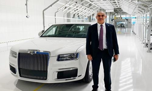 Rusya'nın ilk lüks segment aracının gövde parçaları Türk üreticiden