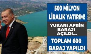 Erdoğan: Kuraklığa karşı yatırımlar devam ediyor