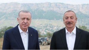 İlham Aliyev'den Erdoğan'a…