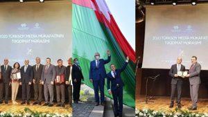 Başkan Genç'e Azerbaycan'dan Büyük Ödül