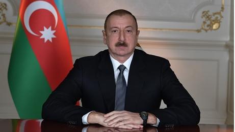 Aliyev'den kutlama!