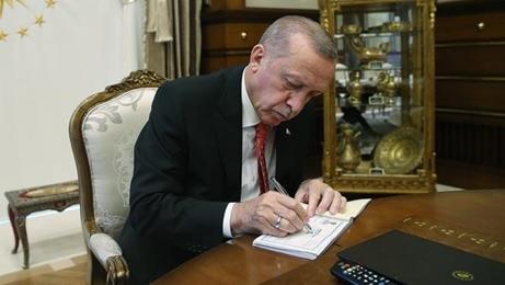 Erdoğan, Azerbaycan ile imzalanan 3 belgeyi  onayladı