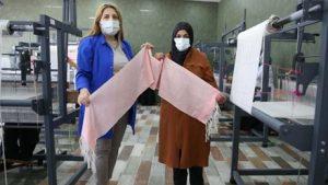 DOKA kadınlara destek çıktı, Tamzara dokumasının önü açıldı