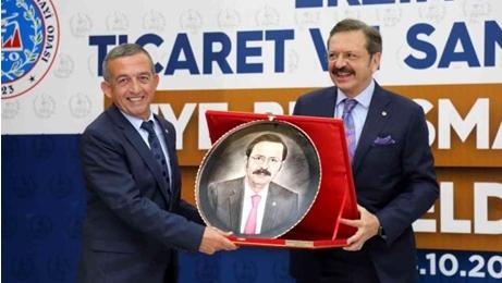 Erzincan TSO Başkanı Tanoğlu: Pek çok projeyi Hayata Geçirdik