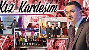 Bakan Pakdemirli: Kadınlarımız Türkiye'yi 'Tarımsal Hasılada' Lider konuma getirdi.